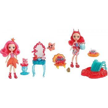 Mattel Enchantimals Puppe + Meerestier, sortiert, 1 Stück