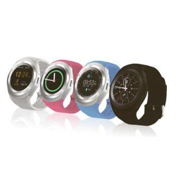 GoClever Fit Watch Smartwatch Fitness Uhr Blutdruckmesser Pulsmesser Bluetooth Stoppuhr Schlaftracker Schrittzähler Sport Fitness Training