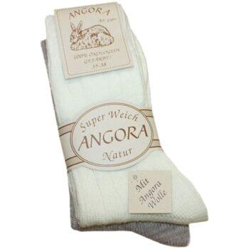 Sortiment 60 Paar Angorasocken Ökologisch Wolle Warm