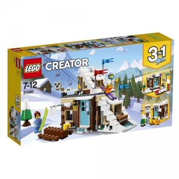 LEGO® Creator Modulares Wintersportparadies