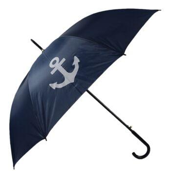 Regenschirm mit HH Druck, rot