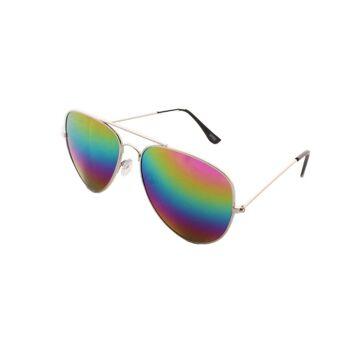 Sonnenbrille Pilot Partybrille Spaß Verspiegelt Pilotenbrille Fasching