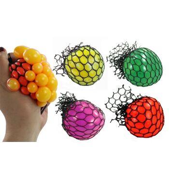 27-83876, Knautschball 6 cm, Glibberball, zum Quetschen und Kneten