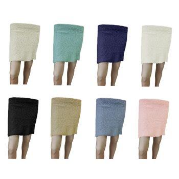 Gestrickte Miniröcke von Rohina - 8 Farben