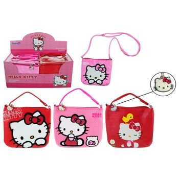 27-46195, Hello Kitty Tasche mit Schultergurt (größenverstellbar)