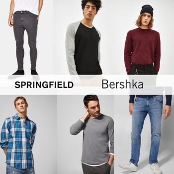 SPRINGFIELD BERSHKA MEN MIX - FROM 4,20 EUR/PC