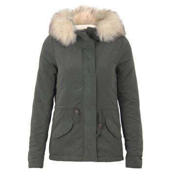 Only Jacke Onllucca Short Parka Farbe Peat