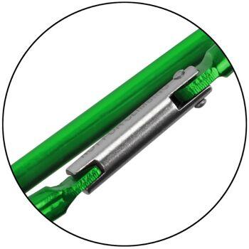 Materialkarabiner Fun Karabiner Aluminium Karabinerhaken Schlüsselanhänger Haken