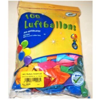 12-19008, Luftballons 100er Pack 20 cm, Party, Event, Karneval, Fasching, Deko, Geburtstag, Hochzeit, usw