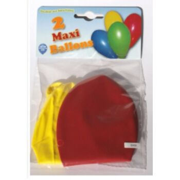 12-39102, MAXI Luftballons 2er Pack, Party, Event, Karneval, Fasching, Deko, Geburtstag, Hochzeit, usw