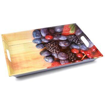 28-240120, Serviertablett Melamin, 50 x 38 cm, Motivdruck