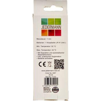 28-711532, Fieberthermometer Digital, mit Signalton und automatischer Abschaltfunktion