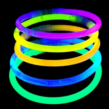 10-596180, Knicklichter 20 cm, 200er, Glow-Sticks, Party, Event, usw., Partylicht, Promotionartikel, Event, Angeln, usw