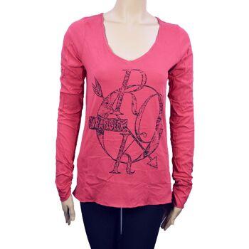 Wrangler Damen T-Shirt Shirt Top Damen T-Shirts Shirts Tops 24071511