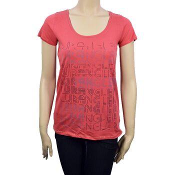Wrangler Damen T-Shirt Shirt Top Damen T-Shirts Shirts Tops 27071501