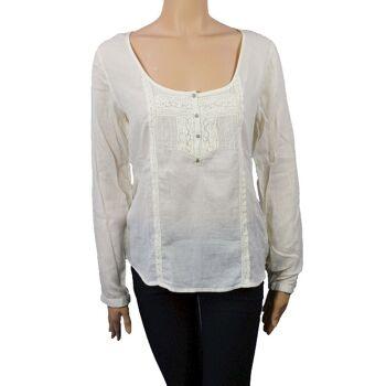 Wrangler Damen Tunika T-Shirt Shirt Top Damen T-Shirts Shirts Tops 30081504