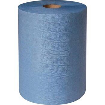 Putztuch profix durex plus L.380xB360mm blau,3lagig 500 Tü./Rl.