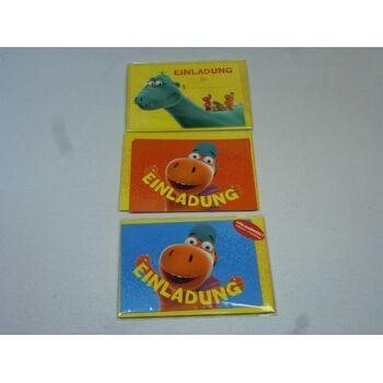 Einladungskarten Set - Der kleine Drache Kokosnuss, 12-teilig, jetzt zum Kinostart
