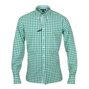 TOMMY HILFIGER SHIRTS - CHECKERED REGULAR FIT