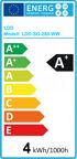 100x COB LED Leuchtmittel COB LED Spot 4 Watt = 280 Lumen 2.800K Warmweiss / 5.500K Kaltweiss