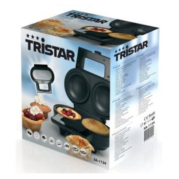 Tristar SA- 1124 Pie Maker Edelstahl schwarz