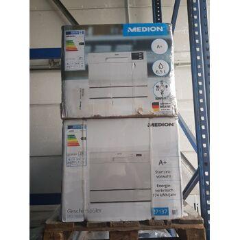 MEDION Tisch Geschirrspüler Spülmaschine MD37227