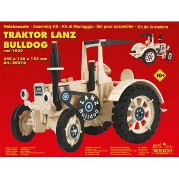 HolzbausatzTraktor Lanz Bulldog Maxi, 1 Stück
