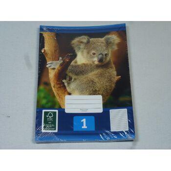 12-544016, Schreibhefte A5, 3er Pack, Nr. 1, Schulheft, Schreibblock, Schreibheft ++++++++