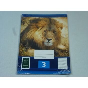 12-544030, Schreibhefte A5, 3er Pack, Nr. 3, Schulheft, Schreibblock, Schreibheft