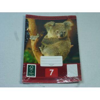 12-544078, Schreibhefte A5, 3er Pack, Nr. 7, Schulheft, Schreibblock, Schreibheft