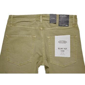 Jack & Jones Glenn Original Jos 400 Kelp Slim Fit W32L34 Herren Jeans Hosen 2-1156