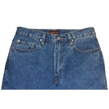 PEPE Jeans London Comfort Fit M129 Zip Fly Marken Jeans Hosen 24011505