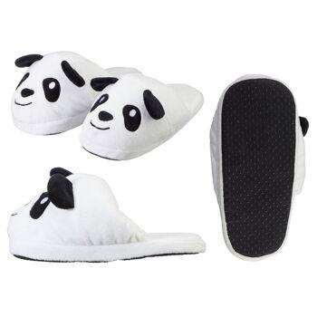 17-64078, Hausschuhe Panda für Kinder, Größen: 30/31, 32/33 und 34/35