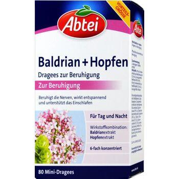 Abtei Baldrian + Hopfen Dragees