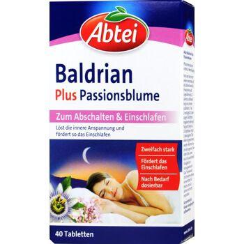 Abtei Baldrian + Passionsblüte Dragees
