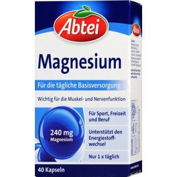 Abtei Magnesium 240 mg Kapseln