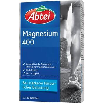 Abtei Magnesium 400 mg Tabletten