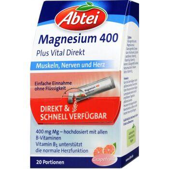 Abtei Magnesium 400 Plus Direkt