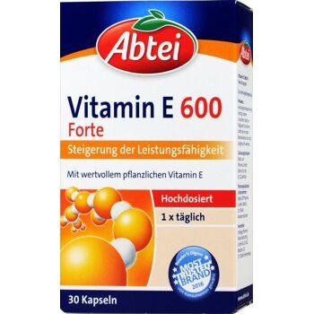 Abtei Vitamin E 600 Kapseln