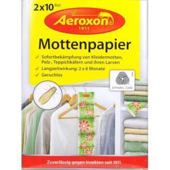 Aeroxon Mottenpapier 2 x 10