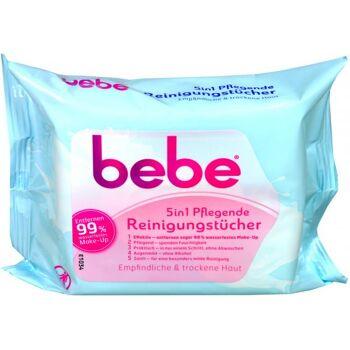 Bebe Young Care 5 in 1 Pflegende Reinigungstücher