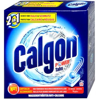 Calgon Ball Tabs 2 in 1
