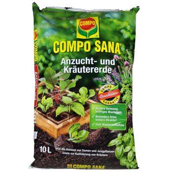 Compo Sana Anzucht- und Kräutererde