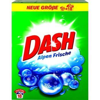 Dash Waschmittel Pulver 1,17 kg