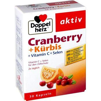 Doppelherz Cranberry + Kürbis Kerne