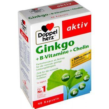 Doppelherz Ginkgo + B-Vitamine + Cholin