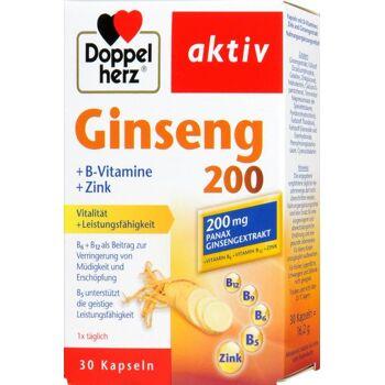 Doppelherz Ginkgo + B-Vitamine + Zink