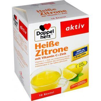 Doppelherz Heiße Zitrone Vitamin C + Zink