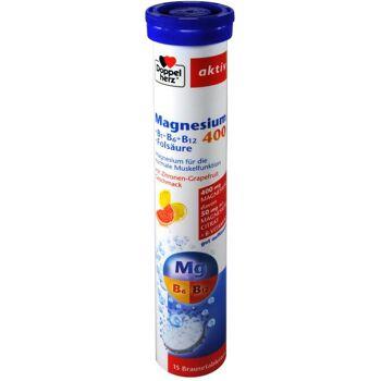 Doppelherz Magnesium 400 + B-Komplex Brausetabletten