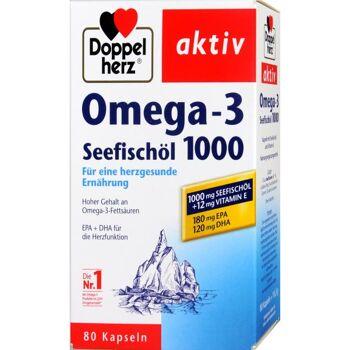 Doppelherz Omega-3 Seefischöl  1000 mg